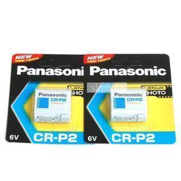 파나소닉 리듐베터리 CR-P2 (6V) 2알