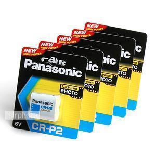 파나소닉 리듐베터리 CR-P2 (6V) 5알