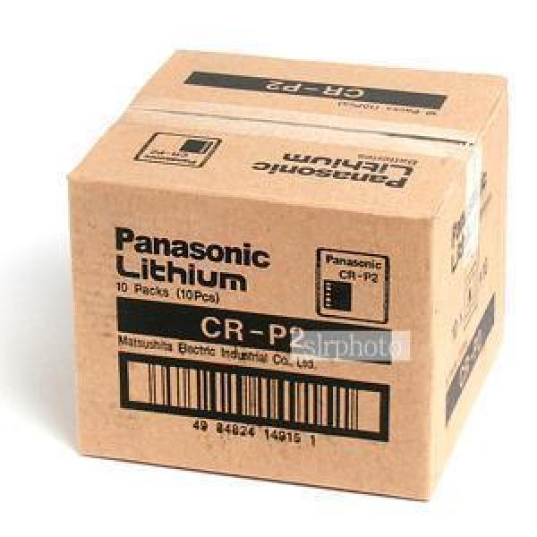 파나소닉 리듐베터리 CR-P2 (6V) 10알