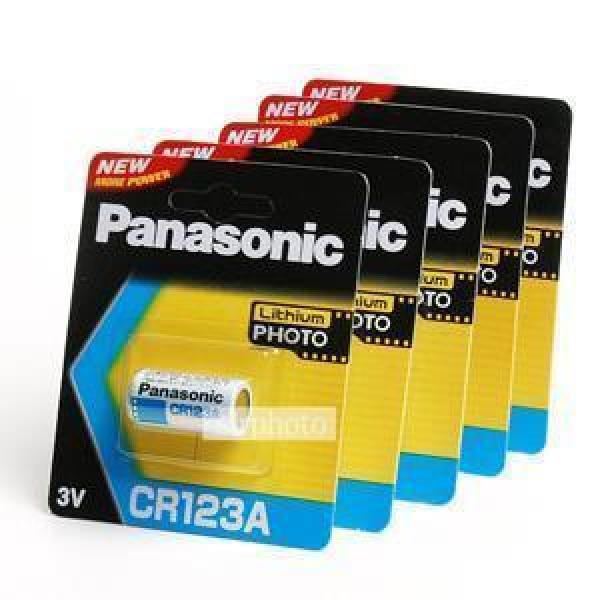 파나소닉 리듐베터리 CR123A (3V) 5알/배터리