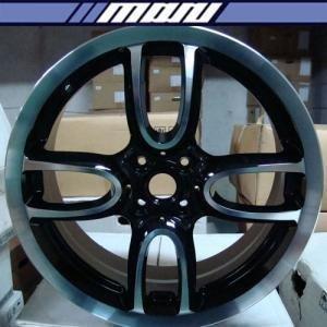 마루모터/ 특가상품/GM 603 18인치 4홀/블랙폴리쉬/7.5J 100/BMW 미니쿠퍼