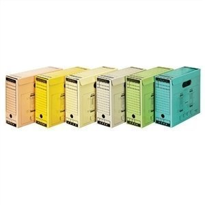 문서보관상자 6가지 색상 A4 10개입