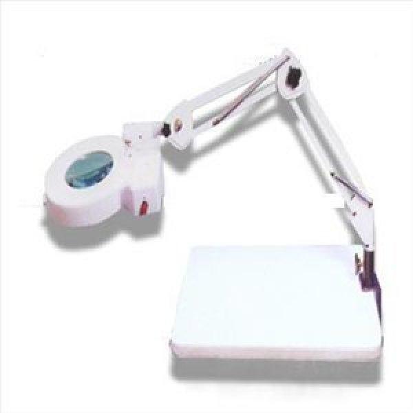 SK-103/8배율/클램프확대경/이미용/병원/클립형검시경/집게형/램프확대경/조명확대경검안경