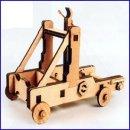 [영공방] 망고넬투석기 교육용 나무공방 나무모형 전통가옥 목재키트 나무입체퍼즐 나무프라모델