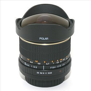 [��籤��] POLAR 8mm F3.5 FISH-EYE LENS/��ȷ���
