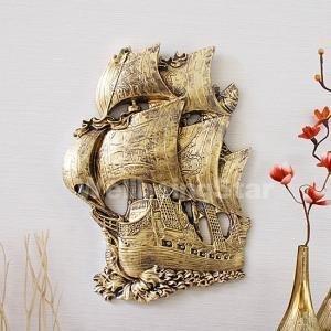 콜럼버스 범선 벽장식 소품 (5456) 인테리어 벽걸이