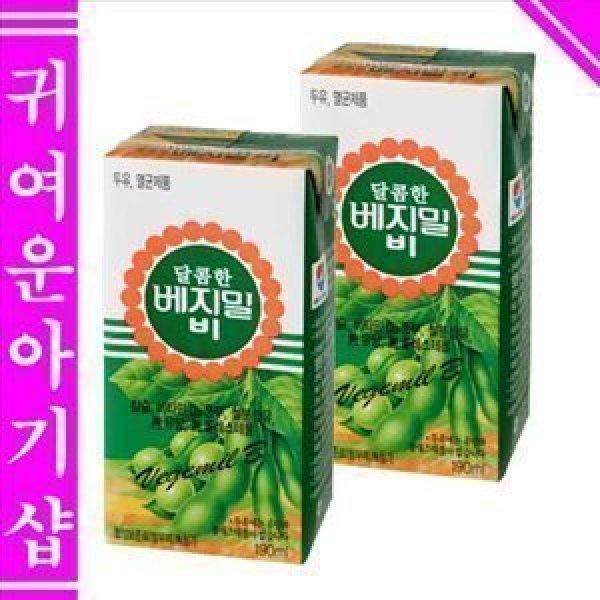 //정식품 달콤한 베지밀B 96팩 /베지밀A 96팩 선택1