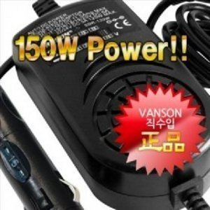VANSON SDR-150W 차량용 노트북 멀티아답터+6종 기본팁