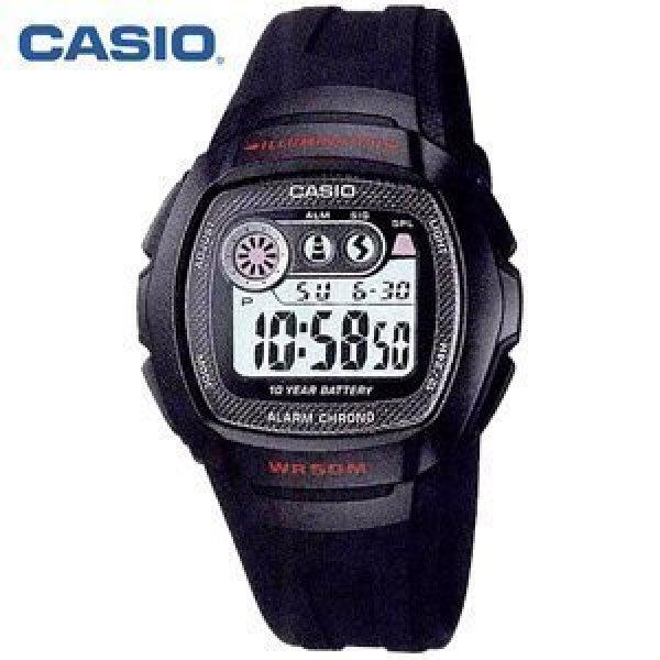 타임앤터치 CASIO 카시오 정품 군인군용 학생 스포츠시계 W-210-1CVDF