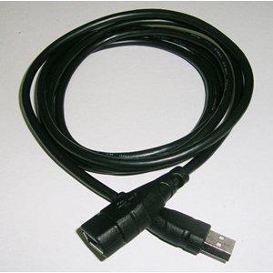 USB2.0 고속 연장 케이블(A-A/1.8m/파란색 LED)