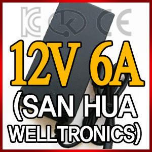 12V6A LCD 모니터 아답타 (AC코드 제외)/어댑터/SMPS
