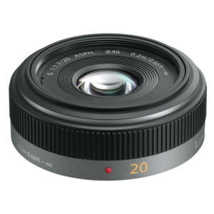 - LUMIX G 20mm F1.7 ASPH �������G