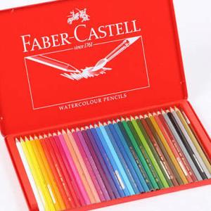 화버카스텔 레드틴 수성색연필 36색 /수채색연필