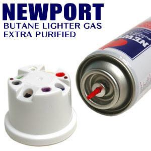 NEWPORT 뉴포트 라이터 가스 고급 충전 영국 한강사