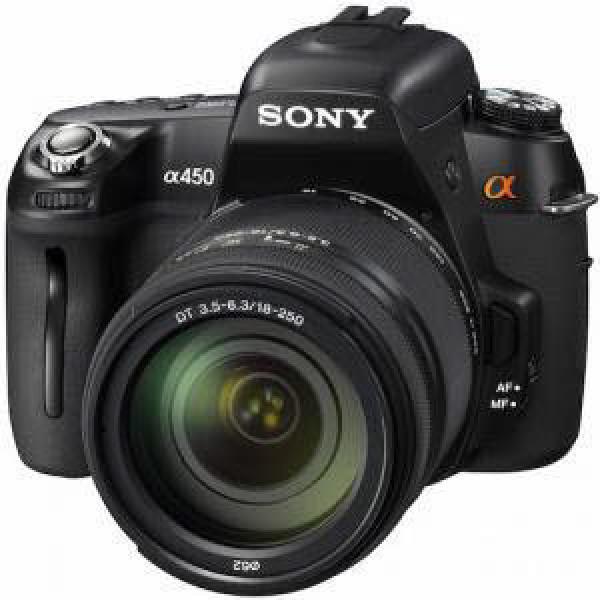 소니정품 Alpha A450+랜즈18mm~55mm+r고급가방+중형삼각대+리더기+청소셋트+화