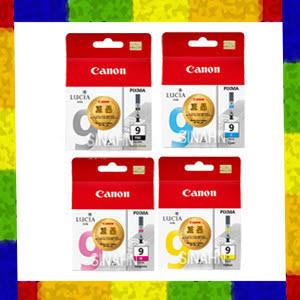 캐논정품 색상선택 PGI-9PBK 9C 9M 9Y 칼라잉크 캐논 iX7000/iX/7000