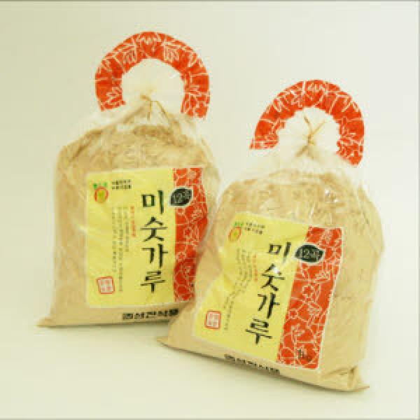 잡곡12곡 미숫가루 선식 2kg(1kgx2봉)/아침식사 간식