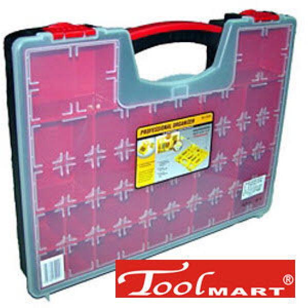 [툴마트] MJ중형부품정리가방 내부식별용이한반투명케이스+19개수납칸+정리함+부품함+공구함-툴마트