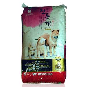 우성 진돗개 베스트 10kg/조단백23%/HACCP인증