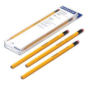 스테들러  노랑지우개연필 134 HB/134 2B 선택형
