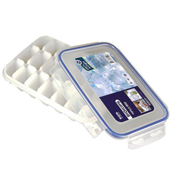 [안심하세요 코멕스입니다] 코멕스 실리콘 부착된 뚜껑있는 아이스큐브(大)/얼음틀/얼음용기