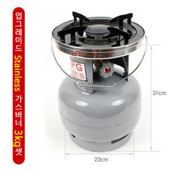 [꾸버스] 동성정밀/강력한 휴대용 가스버너 3kg/5kg셋/야외용