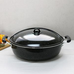 마블 튀김솥 39cm-65cm 모음/튀김팬 볶음팬 찜솥 냄비