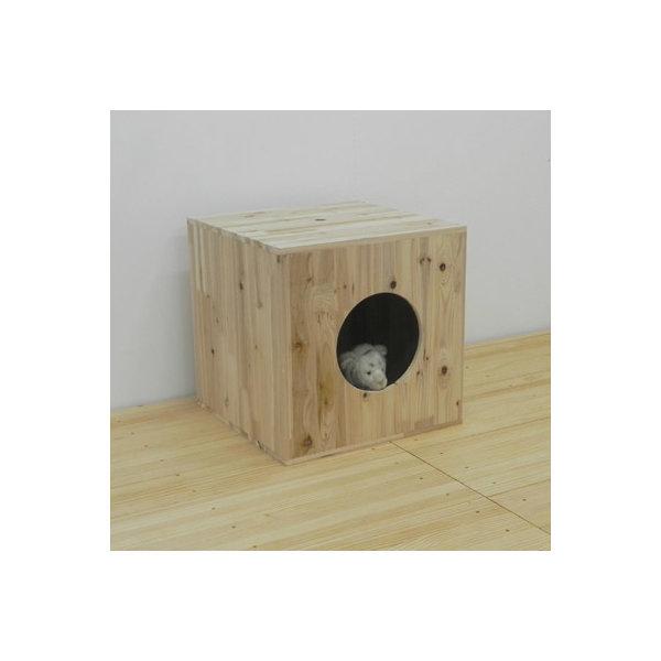 원목 고양이집 /삼나무 고양이집