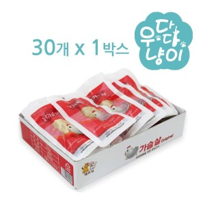 펫모닝 닭가슴살 22g x 30개 1박스