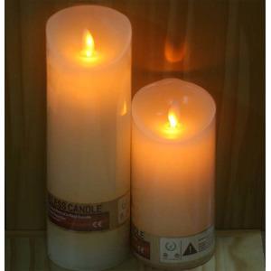 led양초 흔들리는전자촛불(바닐라향) 건전지초 취침등