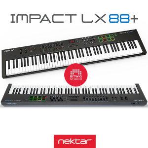 Nektar Impact LX88+마스터키보드