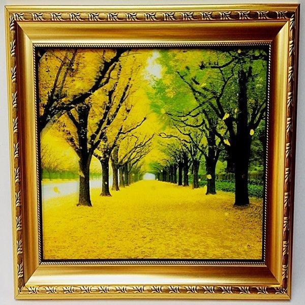 가로수 풍경화 동양화 그림 수목원 생일 선물 박스 HD