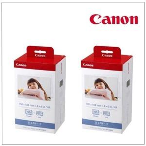 캐논 셀피KP-108N 인화지 2팩/216매 CP1200/910/900