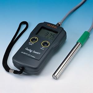 (종로)보일러와 냉각수용 pH측정기 HI99141/온도