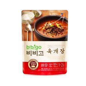 CJ비비고 육개장 500g/즉석국/찌개/간편식/즉석식품
