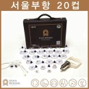VT 서울부항 20컵 부항기+채혈기+침10개+솜10개