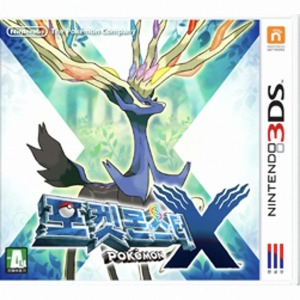 3DS 포켓몬X 닌텐도 중고칩