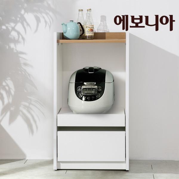 해피 수납밥솥장(소) 수납용 렌지대/밥솥장