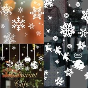 쉽게 붙이고 제거하는 크리스마스 눈꽃 스티커 국산
