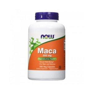 Now Foods 나우 푸드 마카 500 mg 250 야채캡슐