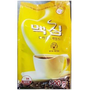 커피(모카골드 맥심 500g) 커피원두 100%