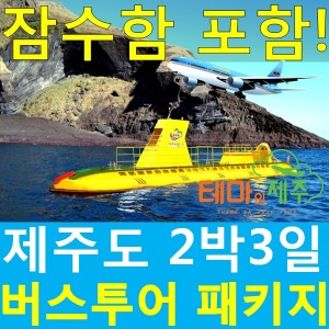 제주도버스여행패키지|서귀포잠수함/우도잠수함/2박3일여행일정/테마인제주/일정선택가능