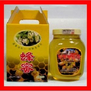 향로봉벌꿀2.4kg 아카시아꿀 잡화꿀 밤꿀 꽃가루 화분