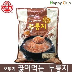옛날 구수한 끓여먹는 오뚜기 누룽지 3kg (50인분)