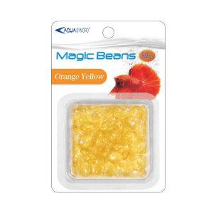AquaSyncro 매직 콩구슬 (Orange Yellow) - 수조셋팅