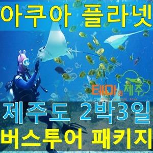 제주도버스투어패키지/아쿠아플라넷 포함/2박3일여행일정/테마인제주