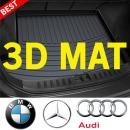 3D 트렁크 매트 BMW 아우디 벤츠 자동차용품