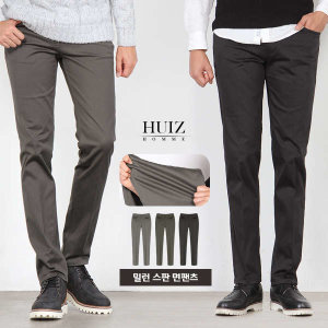 (현대Hmall) 휴아이지옴므  HU 밀런 스판 면팬츠 HUIZ_SL421