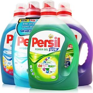 퍼실 2.7L x 2개 리큐 액츠 액체 세탁세제 피지