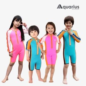 아쿠아리우스 유아 아동 남아 여아 네오플랜 수영복